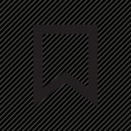 bookmark, favorite, watchlist icon