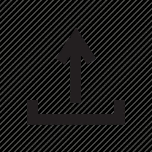 arrow, data, file, storage, upload icon