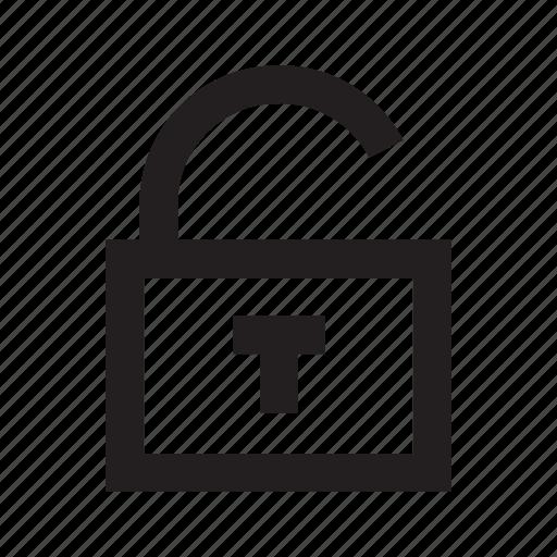 key, padlock, privacy, protect, security, unlock icon