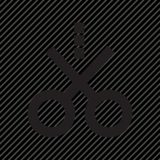 coupon, cut, promotion, scissors icon