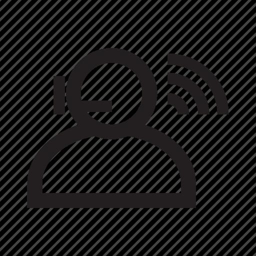 agent, call center, call service, customer support, operator icon