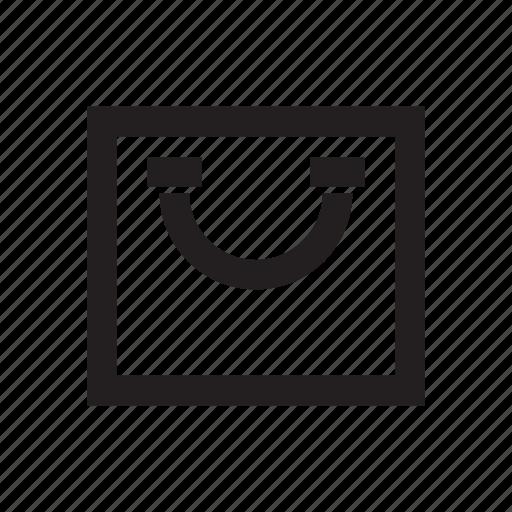e commerce, shopping, shopping bag icon