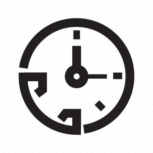 call service, clock, contact, customer service, phone, time icon