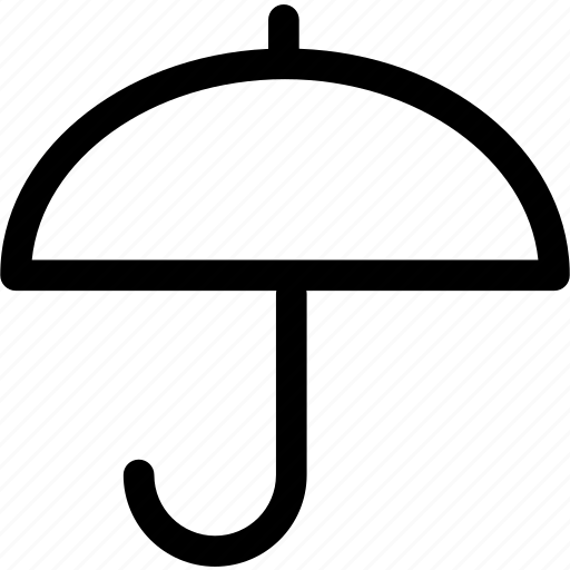 interface, rain, umbrella, weather, web icon
