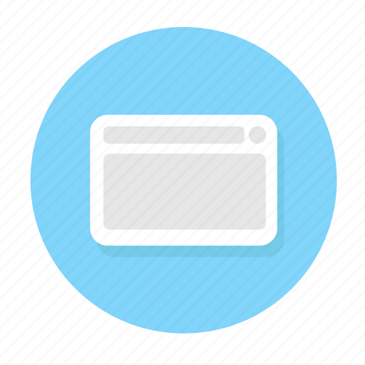 empty, internet site, site, web, web content, website icon