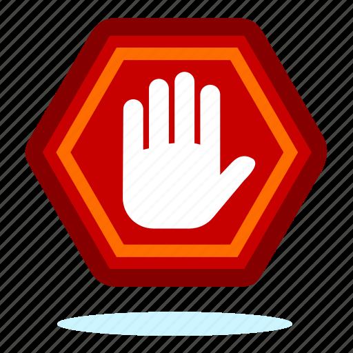 ban, block, private, protection, safe, shield icon