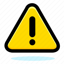 alert, attention, caution, danger, error, exclamation, hazard, sign, warning icon