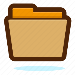 document, documents, file, files, folder, open icon