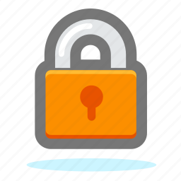 lock, locked, password, private, protect, protection, safe, safety, secure, security, shield, unlock icon