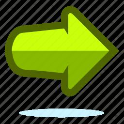 next, play icon