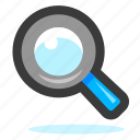 search, look, explorer, zoom, find, glass, explore, magnifier, magnifying, view