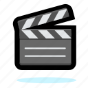 camera, film, media, movie, multimedia, play, player, video icon