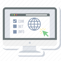 domain, purchase icon