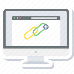 connection, link, linking, network, web icon