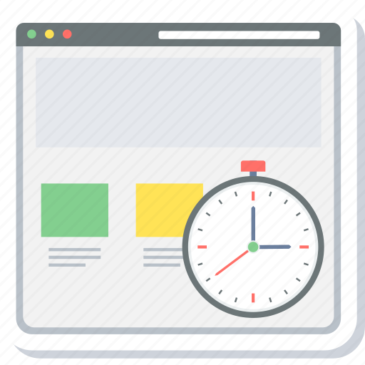 load, run, running, time, timer icon