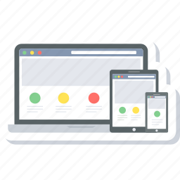 design, layout, page, responsive, site, web, website icon