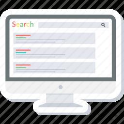 explore, google, online, search icon