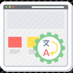 convert, language, translation icon