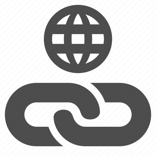 chain, hyperlink, internet, link, web, web link icon