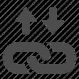 hyperlink, web link icon