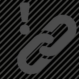 hyperlink, link, web icon