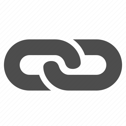chain hyperlink internet link web icon