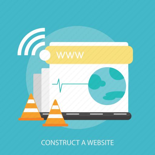 construct, internet, maintenance, page, repair, website, world icon