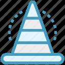 building, cone, marketing, road, site, traffic, warning