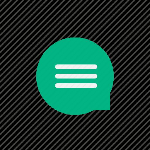 app, bubble, chat, messenger, talk icon