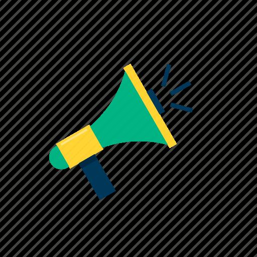 marketing, megaphone, promotion, speaker icon