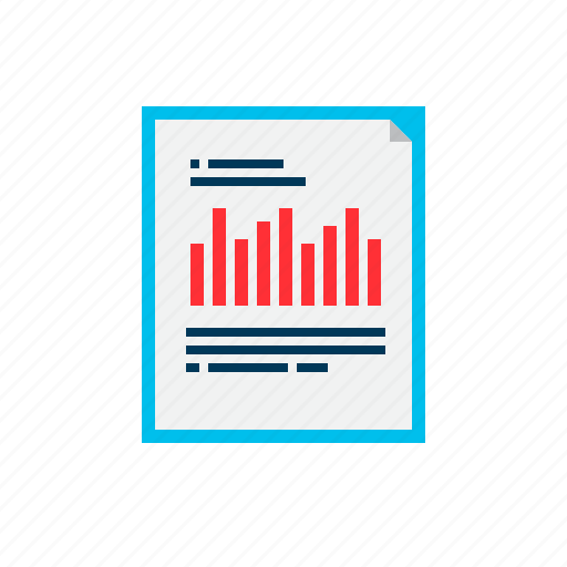 analysis, business, data, report, tools icon