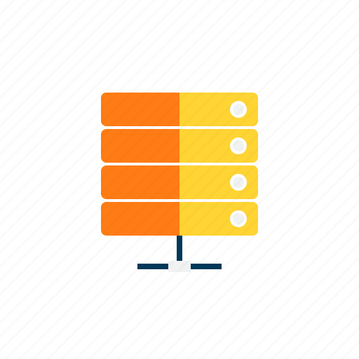 connection, data, server, space, storage icon