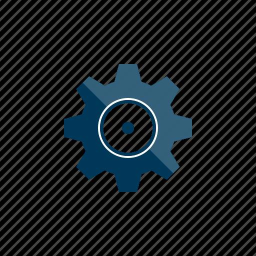 cog, configure, settings, tool icon