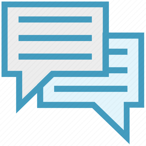 chat, comments, conversation, marketing, message, sms, text icon