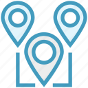 locate, location, location pointers, map pointers, marketing, pins, web