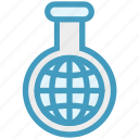 chemistry, lab, laboratory, research, science, tube, world icon