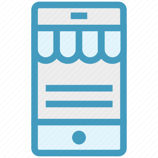 marketing, mobile, mobile shop, online, shop, shop app, shopping icon