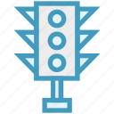 control, lights, regulation, street, traffic, traffic light, web icon