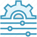 cogwheel, configuration, menu, optimization, options, settings, tweak icon