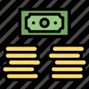 bank, cash, money