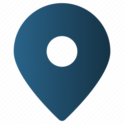 Gps, location, map pin, marker, place, pointer icon - Download on Iconfinder