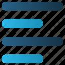 align, alignment, left, left align, web icon