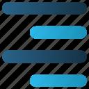 align, alignment, right, right align, web icon