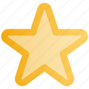 bookmark, favorite, like, ranking star, rating star, star, web icon