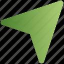 arrow, cursor, email, message, send, web