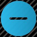 circle, delete, minus, remove icon