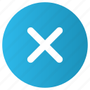 cancel, circle, close, cross, reject icon