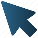 arrow, click, cursor, mouse, pointer
