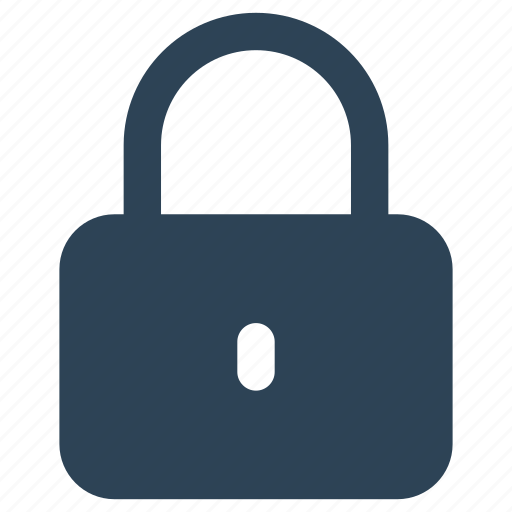 Closed, encryption, lock, locked, padlock, secure, security icon - Download on Iconfinder