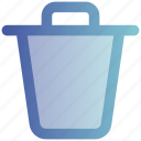 bin, delete, dustbin, garbage, mobile, trash, web